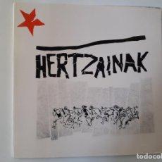 Discos de vinilo: HERTZAINAK- HERTZAINAK- LP 1984 + ENCARTE - VINILO CASI NUEVO.. Lote 195990903