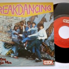 Discos de vinilo: ELECTRIC BOOGIE MEN - BREAKDANCING / BABY CAN YOU - SINGLE 1984 - FONOMUSIC. Lote 195992746