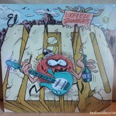Disques de vinyle: LP UKELELE ZOMBIES, EL MITO. Lote 195993298