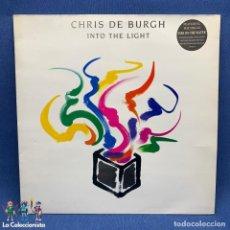 Disques de vinyle: LP CHRIS DE BURGH - INTO THE LIGHT - AÑO 1986 - ESPAÑA - MUY BUEN ESTADO. Lote 195995991