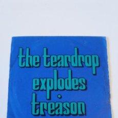 Discos de vinilo: THE TEARDROP EXPLODES TREASON / BOOKS ( 1980 ZOO MUSIC UK ) JULIAN COPE. Lote 196020072