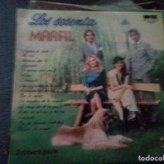 Discos de vinilo: LOS SESENTA MARFIL. Lote 196021322