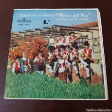 Discos de vinilo: AGRUPACION FOLKLORICA FLORES DEL SUR - SANTA CRUZ DE TENERIFE. Lote 196023613