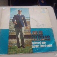 Discos de vinilo: LOTE B VINILO DISCO JULIO IGLESIAS. Lote 196030511