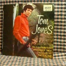 Discos de vinilo: TOM JONES ?– NO ES NADA EXTRAÑO / ESPERANDO EL AMOR / ERASE UNA VEZ / CANTO AL MAR, DECCA,SDGE 80964. Lote 196031581