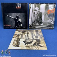 Discos de vinilo: LOTE DE 3 LP - VINILO - EROS RAMAZZOTTI - AÑOS 80 - VER DESCRIPCIÓN. Lote 196035781
