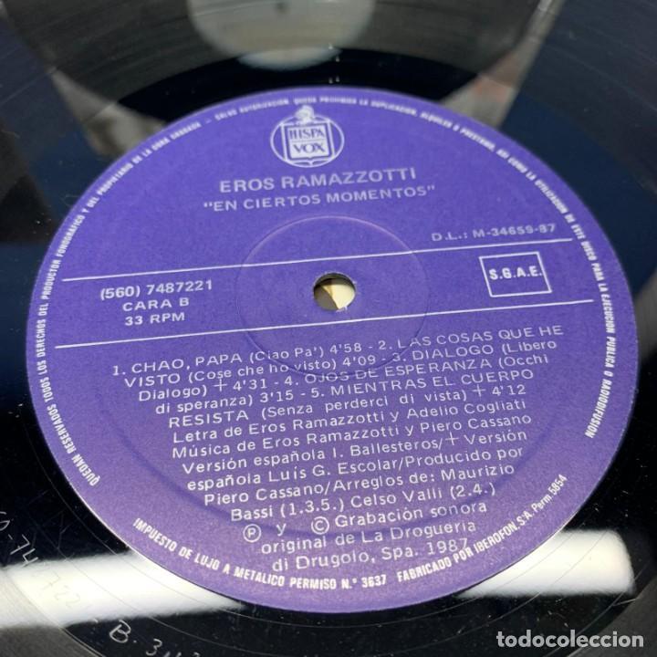 Discos de vinilo: LOTE DE 3 LP - VINILO - EROS RAMAZZOTTI - AÑOS 80 - VER DESCRIPCIÓN - Foto 5 - 196035781