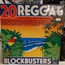 Discos de vinilo: ZAFIRO 20 REGGAE TRROJAN 1969. Lote 196044552