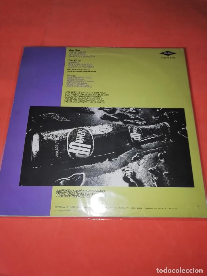 Discos de vinilo: SEMEN UP . VUELVE EL HOMBRE .MINI LP .PRODUCCIONES TWINS. CBS RECORDS 1987 - Foto 2 - 196048510