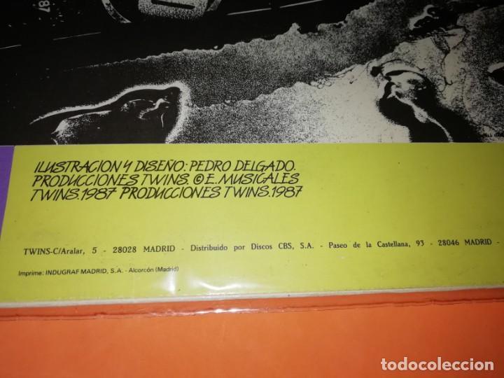 Discos de vinilo: SEMEN UP . VUELVE EL HOMBRE .MINI LP .PRODUCCIONES TWINS. CBS RECORDS 1987 - Foto 4 - 196048510