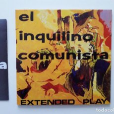 Disques de vinyle: EL INQUILINO COMUNISTA EP RADIATION 1992 EXTENDED PLAY SPEED LIMIT/ PIECE OF ROCK +2 SONIC YOUTH. Lote 196051685