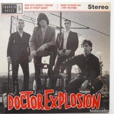 Discos de vinilo: DOCTOR EXPLOSION – BYE BYE SWEET CREAM . Lote 196052625