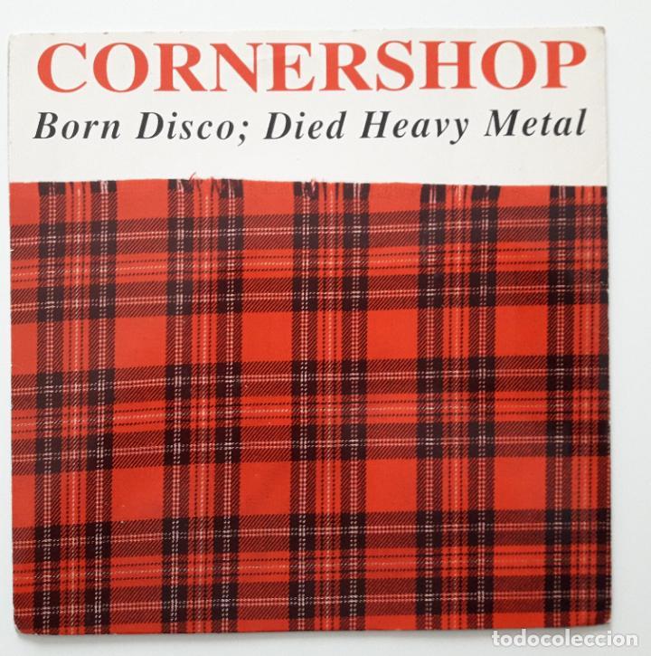 CORNERSHOP , BORN DISCO: DIED HEAVY METAL - RARO - (Música - Discos de Vinilo - EPs - Pop - Rock Extranjero de los 90 a la actualidad)