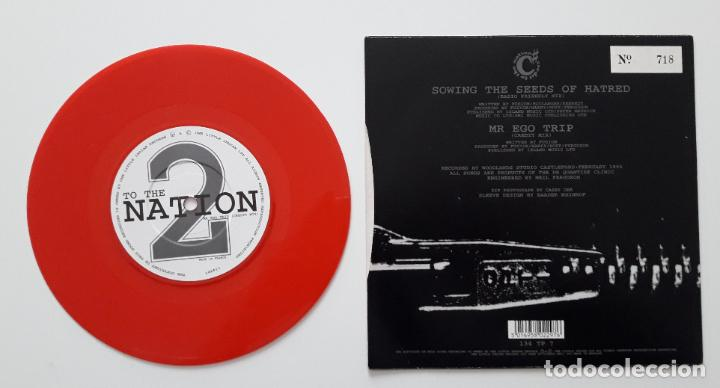 Discos de vinilo: Credit to the nation - Sowing the seeds of hatred- vinilo rojo - Foto 2 - 196055911