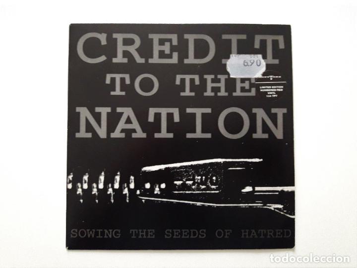 CREDIT TO THE NATION - SOWING THE SEEDS OF HATRED- VINILO ROJO (Música - Discos - Singles Vinilo - Rap / Hip Hop)