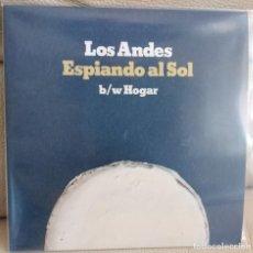Disques de vinyle: SINGLE LOS ANDES, ESPIANDO AL SOL. Lote 196061228