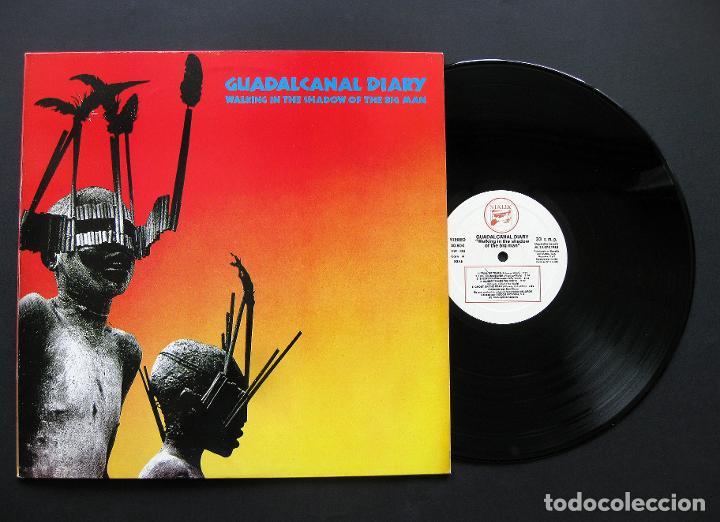 GUADALCANAL DIARY – WALKING IN THE SHADOW OF THE BIG MAN – VINILO 1985 (Música - Discos - LP Vinilo - Pop - Rock - New Wave Extranjero de los 80)