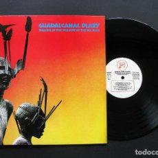 Discos de vinilo: GUADALCANAL DIARY – WALKING IN THE SHADOW OF THE BIG MAN – VINILO 1985. Lote 196070038