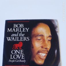 Dischi in vinile: BOB MARLEY & THE WAILERS ONE LOVE / SO MUCH TROUBLE ( 1983 ISLAND UK ). Lote 196078280