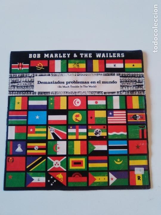 BOB MARLEY & THE WAILERS SO MUCH TROUBLE IN THE WORLD ( 1979 ISLAND ESPAÑA PROMO ) (Música - Discos - Singles Vinilo - Reggae - Ska)