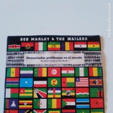Dischi in vinile: BOB MARLEY & THE WAILERS SO MUCH TROUBLE IN THE WORLD ( 1979 ISLAND ESPAÑA PROMO ). Lote 196078498