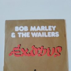Discos de vinilo: BOB MARLEY & THE WAILERS EXODUS / EXODUS INSTRUMENTAL ( 1977 ISLAND FRANCE ). Lote 196078765