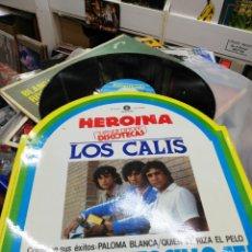 Discos de vinilo: LOS CALIS MAXI HEROÍNA + 2 1986. Lote 196097326
