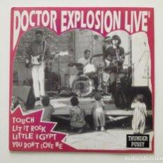 Disques de vinyle: DOCTOR EXPLOSION LIVE EP 45RPM - 1992. Lote 196103326
