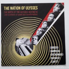 Discos de vinilo: THE NATION OF ULYSSES - MADE IN FRANCE . Lote 196104552