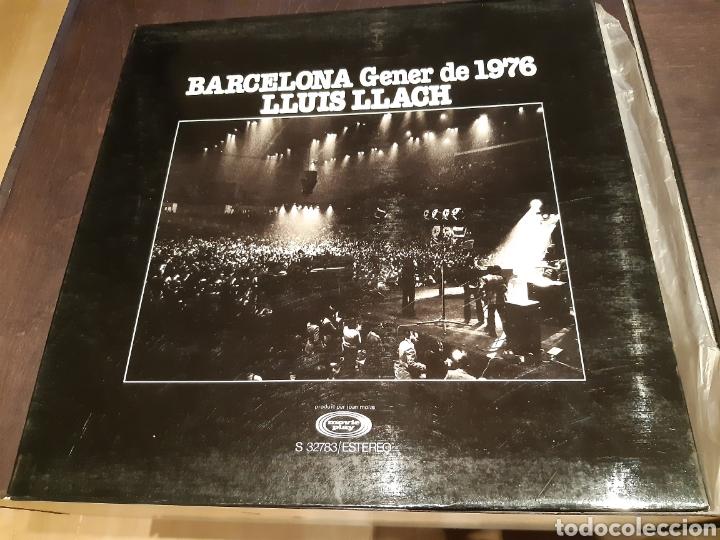 LP LLUIS LLACH CONCERT DEL GENER 1976 A BARCELONA (Música - Discos - LP Vinilo - Solistas Españoles de los 70 a la actualidad)