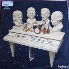Disques de vinyle: LP - WALDO DE LOS RIOS - CONCIERTOS (SPAIN, HISPAVOX 1976). Lote 196109316