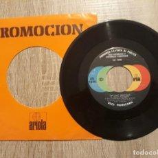 Discos de vinilo: THE TEENS .AQUÍ ESTOY ETC.PROMOCIONAL.1979. Lote 196112496