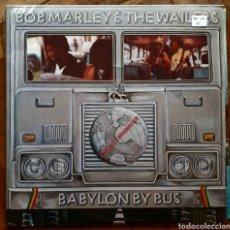Discos de vinilo: BOB MARLEY. BABYLON BY BUS. 2 LP. GATEFOLD. ISLAND ISLD 11. USA 1978. FUNDA VG++. DISCOS VG++. Lote 196126237