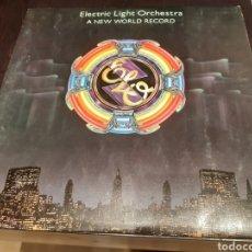 Discos de vinilo: LP ELECTRIC LIGHT ORCHESTRA A NEW WORLD RECORD. Lote 196126385