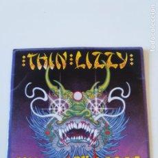 Discos de vinilo: THIN LIZZY KILLER ON THE LOOSE SINGLE DOBLE ( 1980 VERTIGO UK ) PHIL LYNOTT. Lote 196128763