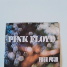 Discos de vinilo: PINK FLOYD FREE FOUR / THE GOLD IT'S IN THE ( 1972 EMI ITALIA ) ITALY. Lote 196128875
