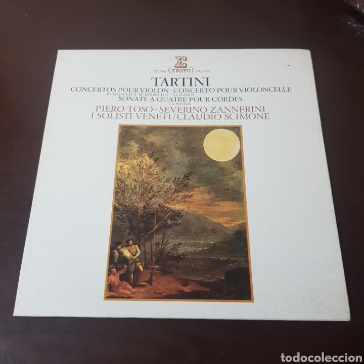 TARTINI - PIERO TOSO - ZANNERINI - CLAUDIO SCIMONE (Música - Discos - LP Vinilo - Clásica, Ópera, Zarzuela y Marchas)