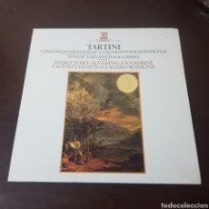 Discos de vinil: TARTINI - PIERO TOSO - ZANNERINI - CLAUDIO SCIMONE. Lote 196130592