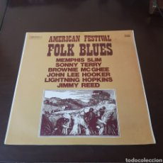 Disques de vinyle: AMERICAN FESTIVAL - FOLK BLUES 1973. Lote 196131613