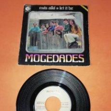 Discos de vinilo: MOCEDADES. MAS ALLA. LET IT BE. NOVOLA RECORDS 1970. Lote 196157686
