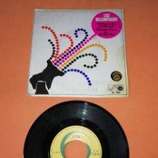 Discos de vinilo: LOS RELAMPAGOS. ALBORADA GALLEGA. BAILARINA DE ESPAÑA. ZAFIRO 6 PISTAS 1966. Lote 196158271