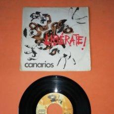 Discos de vinilo: LOS CANARIOS. LIBERATE. MOVIE PLAY RECORDS 1970. Lote 196162943