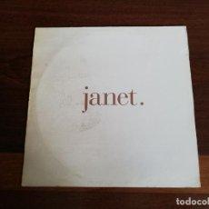 Discos de vinilo: JANET-THAT'S THE WAY LOVE GOES. MÁXI US . Lote 196164502