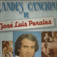 Disques de vinyle: PERALES GRANDES CANCIONES. Lote 196167352