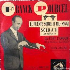 Discos de vinilo: FRANK POURCEL Y SU ORQUESTA, EP 45 RPM. Lote 196170283