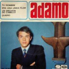 Discos de vinilo: ADAMO EP A 45 RPM. Lote 196172003