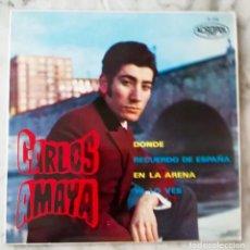 Disques de vinyle: CARLOS AMAYA. DONDE. EP. Lote 196174025