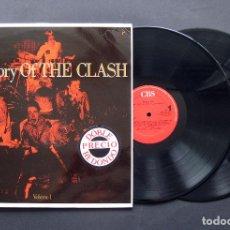 Discos de vinilo: THE CLASH – THE STORY OF THE CLASH (VOLUME 1) – 2XLP 1988. Lote 196175202