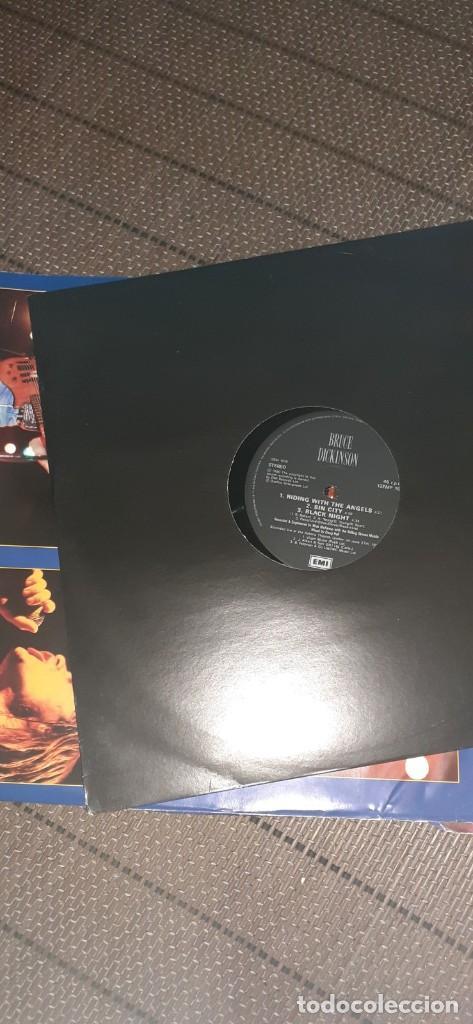 Discos de vinilo: BRUCE DICKINSON Dive!Dive!Live!! 4 temas ,versiones AC/DC,Deep purple,etc - Foto 2 - 196190380