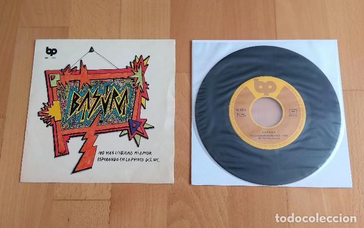 SINGLE 7 BASURA NO SEAS LESBIANA MI AMOR ESPERANDO WC EDICION ORIGINAL 1978 BP INCREIBLE ESTADO (Música - Discos - Singles Vinilo - Punk - Hard Core)